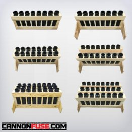 HEAVY DUTY Firework Mortar RACK + TUBE Packages