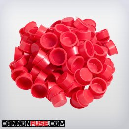 "Red Plastic Plug (1"")"