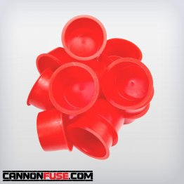 "Red Plastic Plug (1 1/4"")"