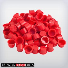 "Red Plastic Plug (3/4"")"