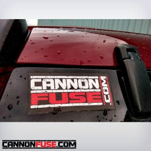 CannonFuse.com Sticker