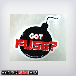 Got Fuse? Sticker