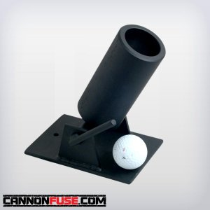 Black Powder Golf Ball Mortar