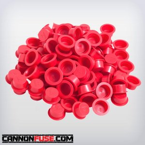"Red Plastic Plug (9/16"")"