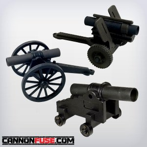 Black Powder Salute Cannons